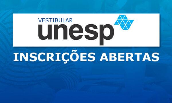 unesp inscricoes 600x360 - Calendário Vestibular Unesp 2022: inscrições e Vagas