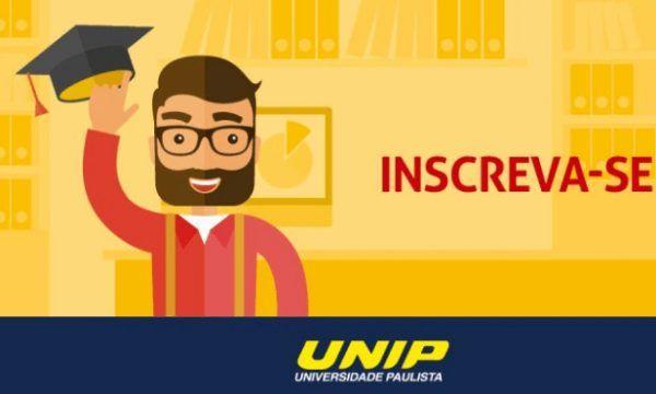 inscrição unip 600x360 - Vestibular UNIP 2022: Inscrições, Provas, Cursos e Resultados