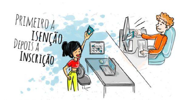 isenção enem 600x330 - ENEM 2022 INSCRIÇÕES: Provas, Edital, Gabarito