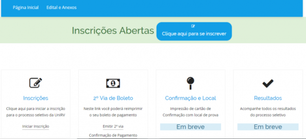Screenshot 3 768x350 600x273 - Vestibular UNIRV 2022: Inscrições, Provas, Cursos, Resultado