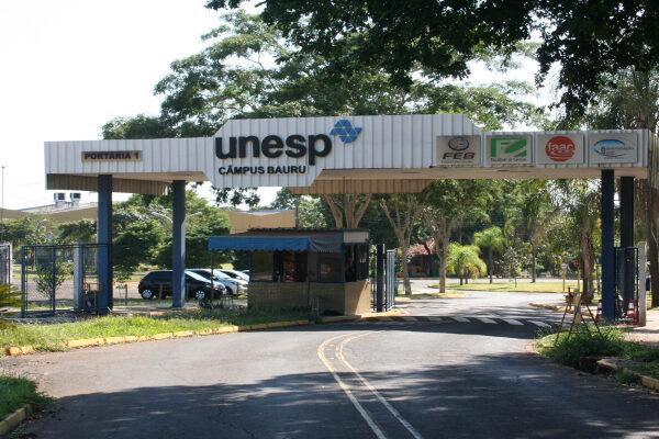 portaria da unesp bauru 600x400 - Calendário Vestibular Unesp 2022: inscrições e Vagas